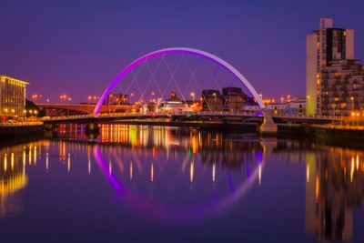 Glasgow- iconic bridge