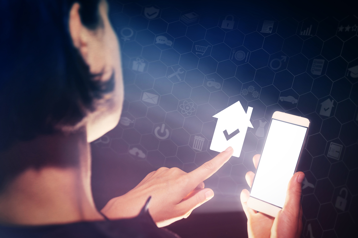 Online buying or renting real estate