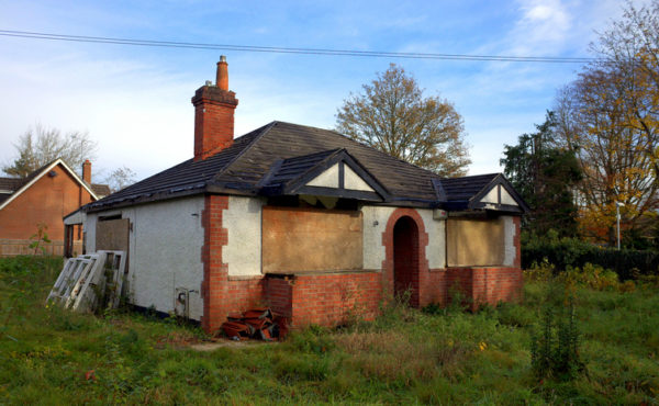 Fixer upper house in need of renovation