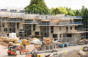 Construction of new build homes