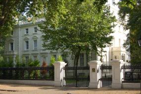 Russian Embassy Kensington Palace Gardens London