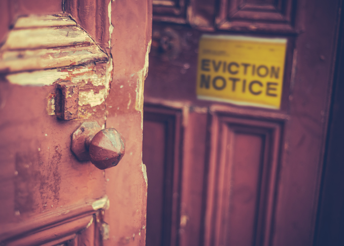Eviction from a home
