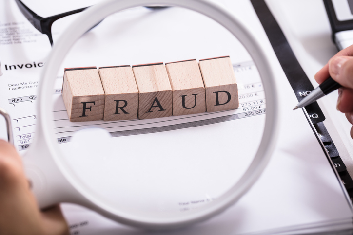 Identifying property fraud