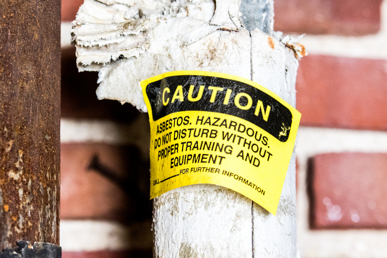 Can i sell a house with asbestos?